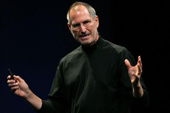 Steve Jobs Apple frunze şef de poziţie