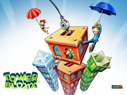 Menara Bloxx Deluxe 3D