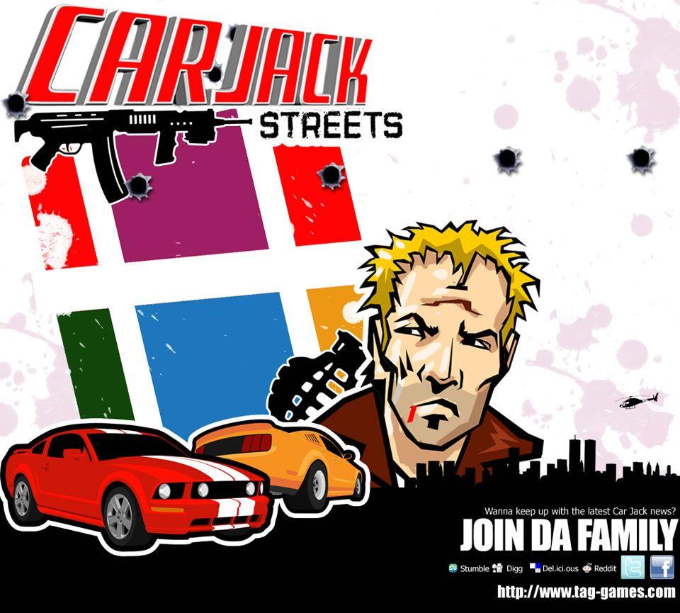 CarJack الشوارع