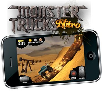 Monster Trucks νιτρωμένες iPhone