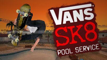 Vans SK8: Pool Service