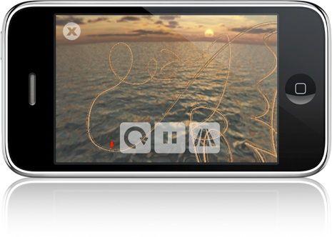 iPhone 3G S kompas + Akcelerometer