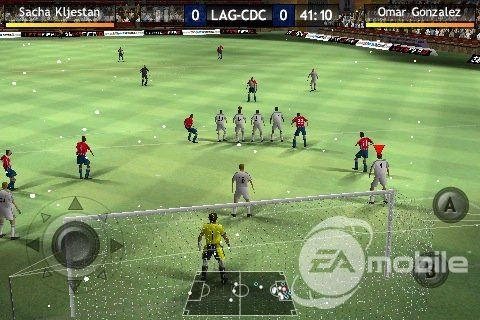Fifa 10 gameplay